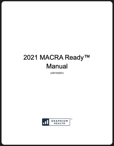 MACRA 2021 Manual With Border Image