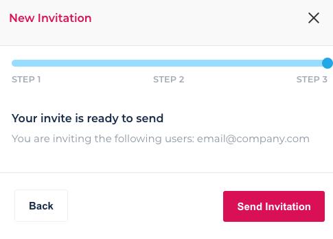 Send invitation copy